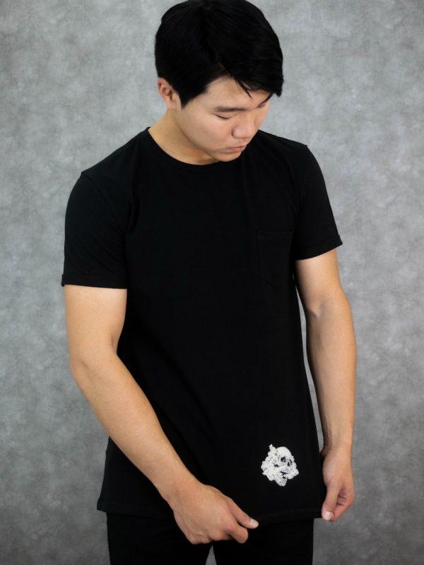 Casaca Camiseta Skull Industrias Roboto