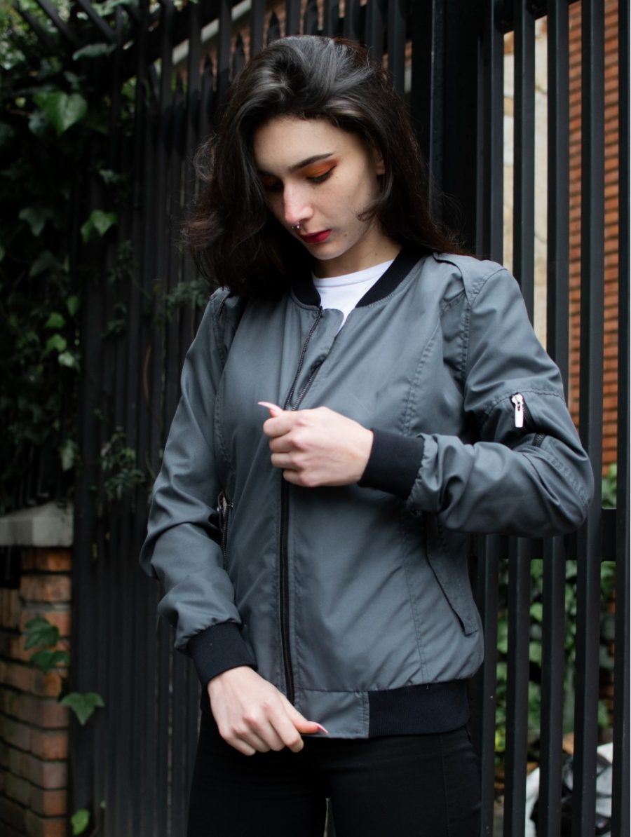 Bomber Manchester Mujer Industrias Roboto