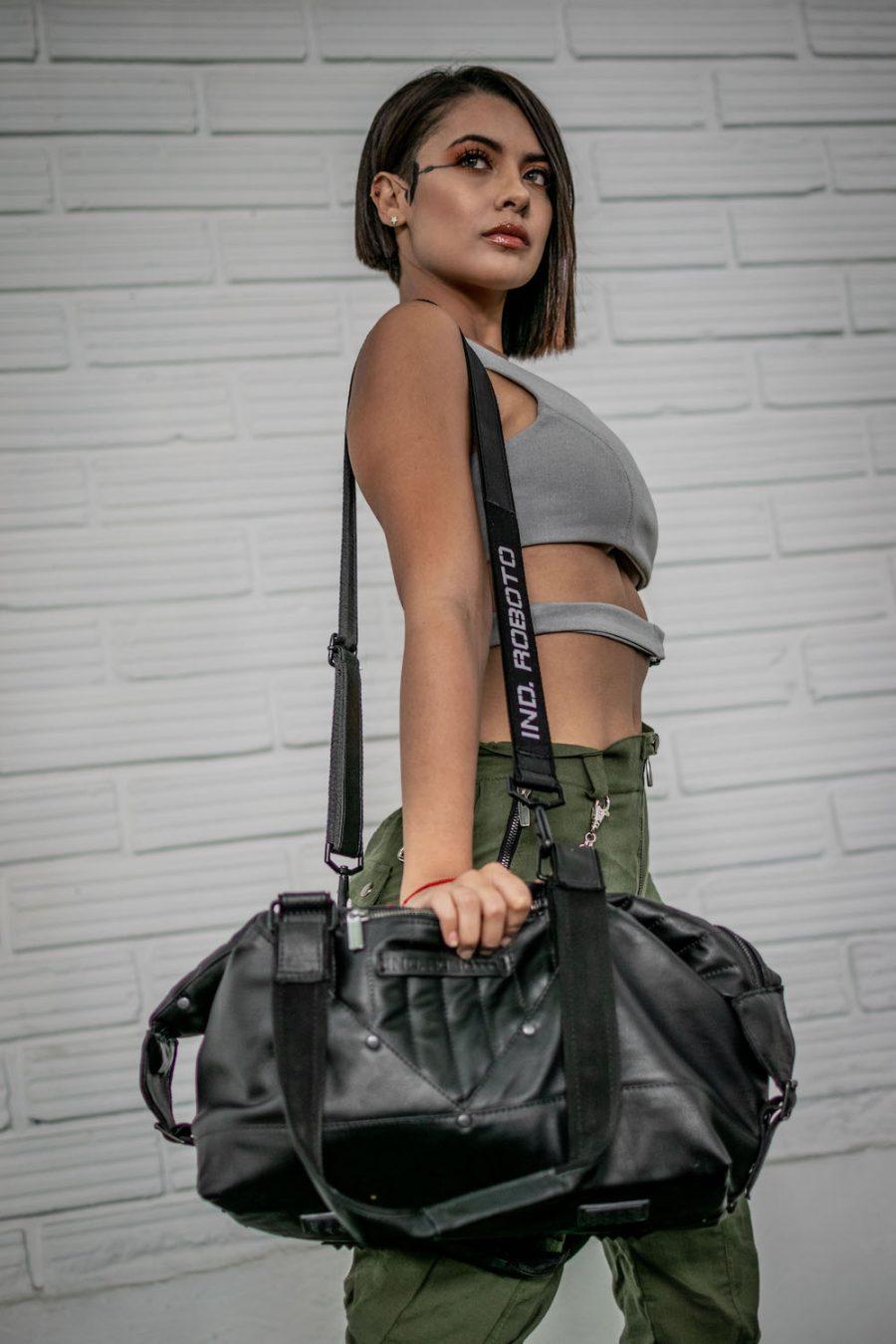 Maleta Mujer Bag Black Trip Industrias Roboto