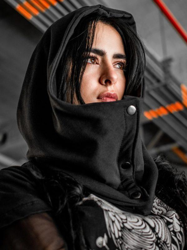 Burka Negra Roboto Mujer